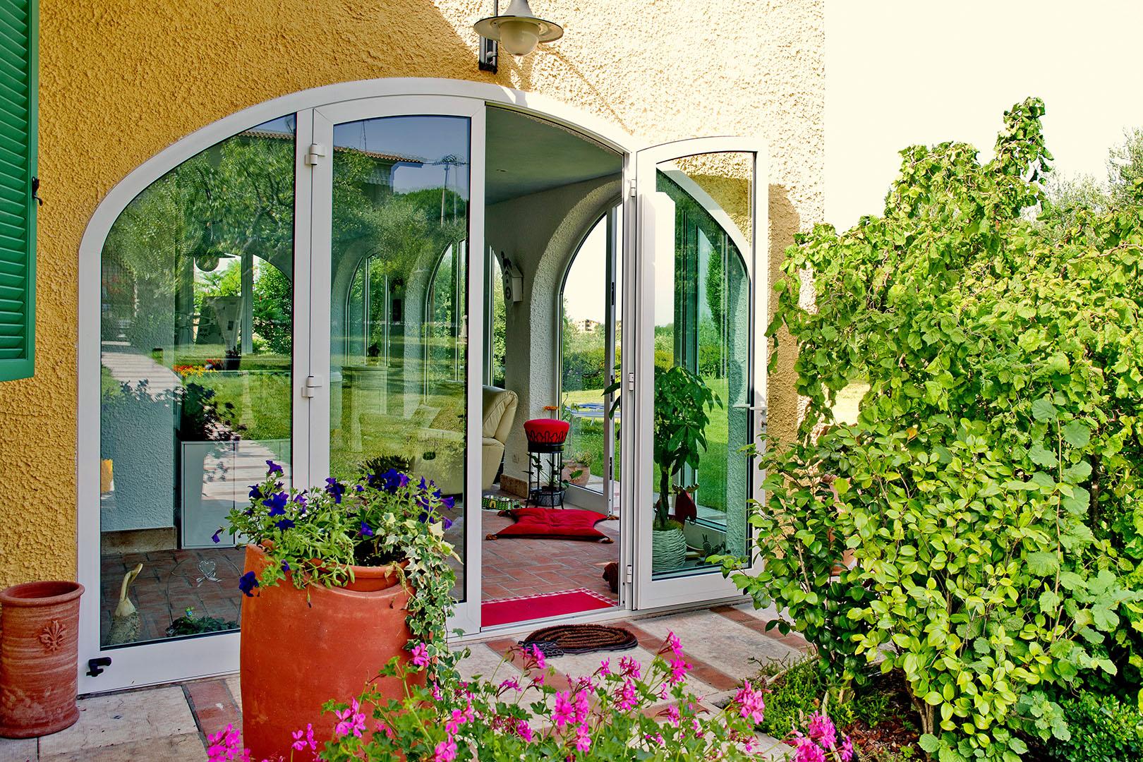 finestre e portafinestra pvc bianco
