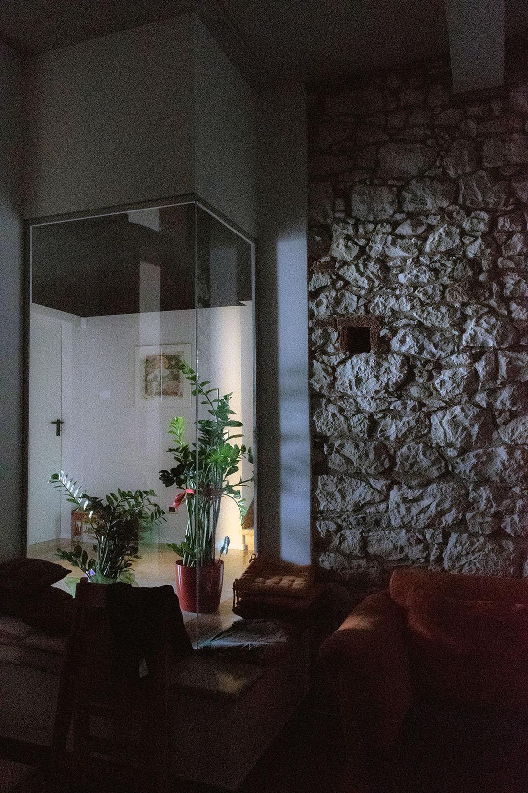 indoor sistema vetro chiusura personalizzata