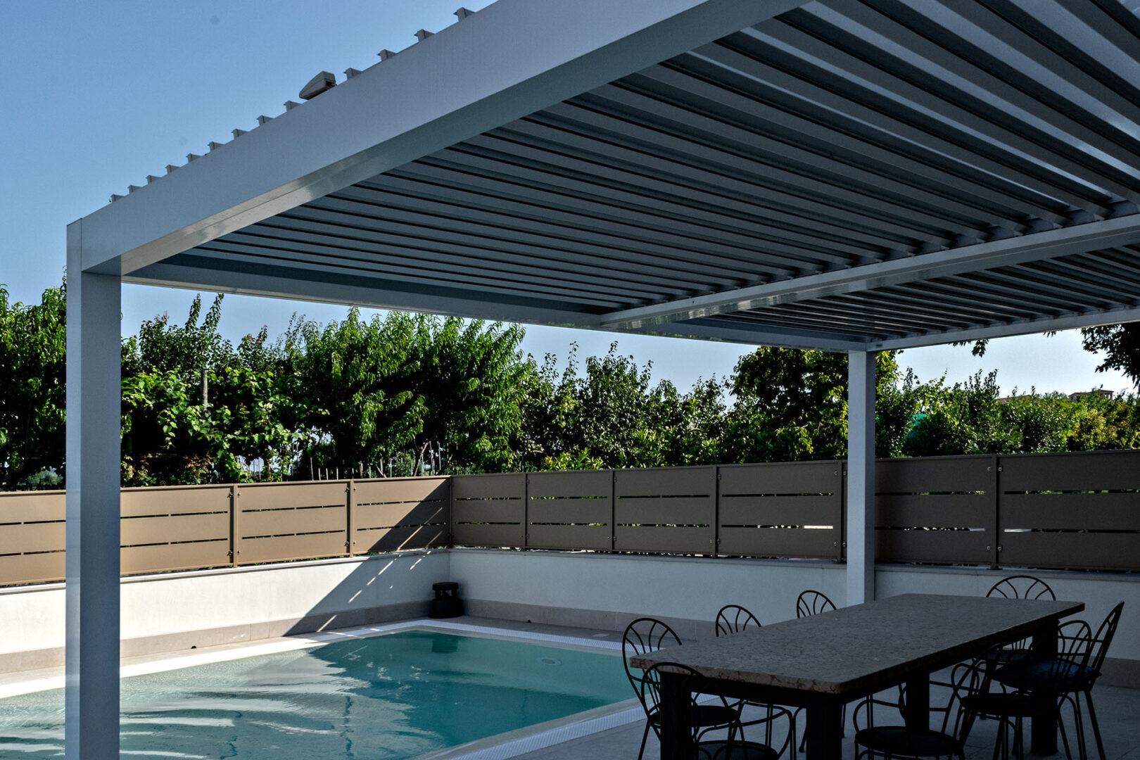 innovazione outdoor coperture bioclimatiche