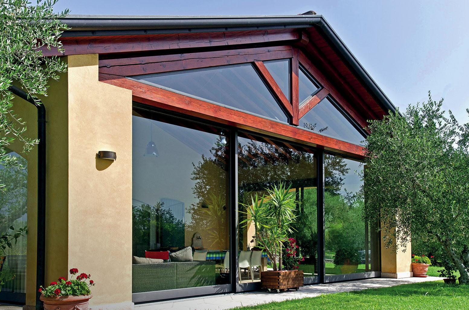 prodotti indoor, vetrata per abitazione privata