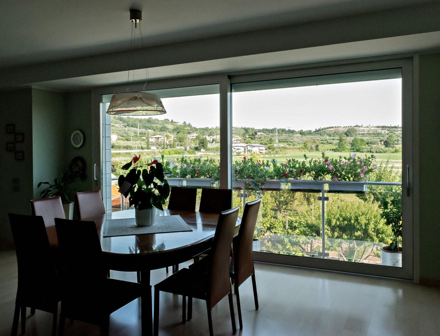 soluzioni indoor vetrate scorrevoli
